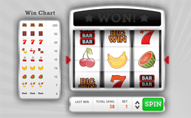 Simple Slot Machine Javascript